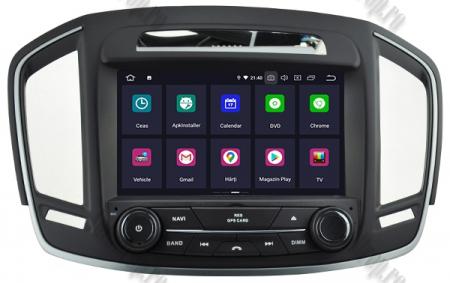 Navigatie Opel Insignia 2014, Android 9, Quadcore|PX30|/ 2GB RAM si 16GB ROM cu DVD, 8 Inch - AD-BGWOPLINSG14P31
