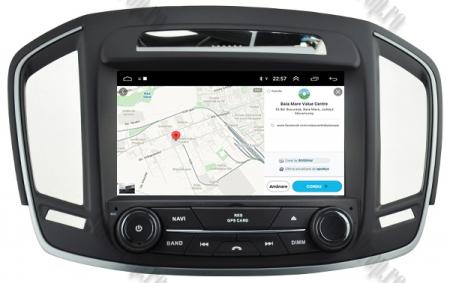 Navigatie Opel Insignia 2014, Android 9, Quadcore|PX30|/ 2GB RAM si 16GB ROM cu DVD, 8 Inch - AD-BGWOPLINSG14P313