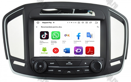 Navigatie Opel Insignia 2014, Android 9, Quadcore|PX30|/ 2GB RAM si 16GB ROM cu DVD, 8 Inch - AD-BGWOPLINSG14P310