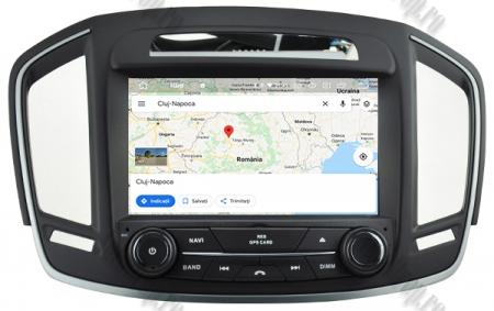 Navigatie Opel Insignia 2014, Android 9, Quadcore|PX30|/ 2GB RAM si 16GB ROM cu DVD, 8 Inch - AD-BGWOPLINSG14P314