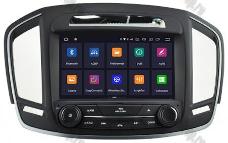 Navigatie Opel Insignia 2014, Android 9, Quadcore|PX30|/ 2GB RAM si 16GB ROM cu DVD, 8 Inch - AD-BGWOPLINSG14P32
