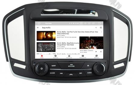 Navigatie Opel Insignia 2014, Android 9, Quadcore|PX30|/ 2GB RAM si 16GB ROM cu DVD, 8 Inch - AD-BGWOPLINSG14P311