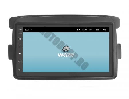 Navigatie Dacia / Renault, QUADCORE|MTK| / 1GB RAM + 16GB ROM, 7 Inch - AD-BGPDACIAMTK9