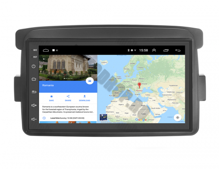 Navigatie Dacia / Renault, QUADCORE|MTK| / 1GB RAM + 16GB ROM, 7 Inch - AD-BGPDACIAMTK14