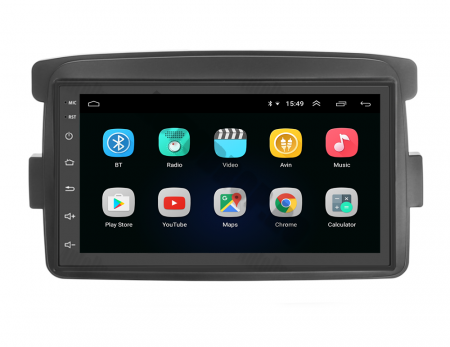 Navigatie Dacia / Renault, QUADCORE|MTK| / 2GB RAM + 32GB ROM, 7 Inch - AD-BGPDACIAMTK2GB3