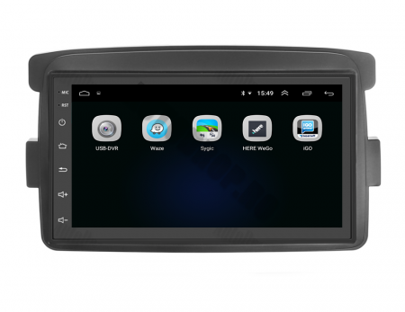Navigatie Dacia / Renault, QUADCORE|MTK| / 2GB RAM + 32GB ROM, 7 Inch - AD-BGPDACIAMTK2GB5