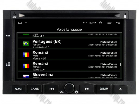 Navigatie Peugeot 3008/5008 (2009-2011), Android 9, Quadcore|PX30|/ 2GB RAM + 16GB ROM cu DVD, 7 Inch - AD-BGWPGTX008P38