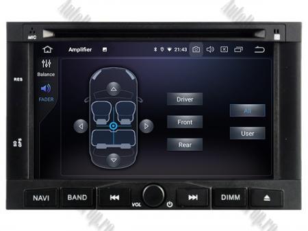 Navigatie Peugeot 3008/5008 (2009-2011), Android 9, Quadcore|PX30|/ 2GB RAM + 16GB ROM cu DVD, 7 Inch - AD-BGWPGTX008P36