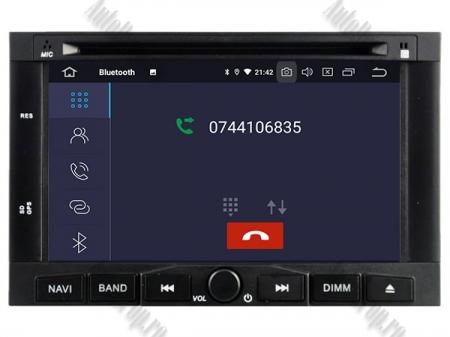 Navigatie Peugeot 3008/5008 (2009-2011), Android 9, Quadcore|PX30|/ 2GB RAM + 16GB ROM cu DVD, 7 Inch - AD-BGWPGTX008P35