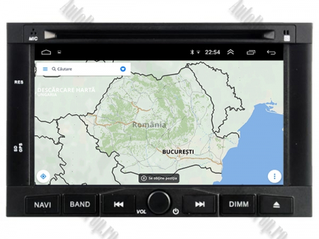 Navigatie Peugeot 3008/5008 (2009-2011), Android 9, Quadcore|PX30|/ 2GB RAM + 16GB ROM cu DVD, 7 Inch - AD-BGWPGTX008P312