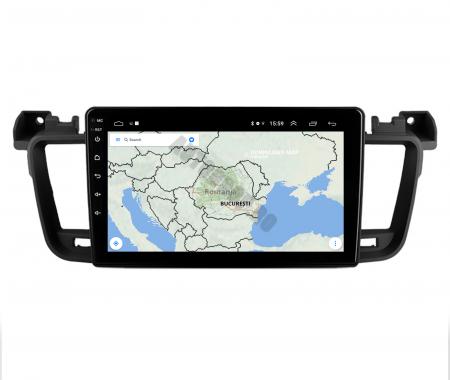 Navigatie Android Peugeot 508 2010-2018   AutoDrop.ro [10]
