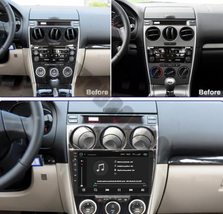 Navigatie Mazda 6 (2002-2008), QUADCORE|MTK| / 1GB RAM + 16GB ROM, 9 Inch - AD-BGPMAZDA6MTK19