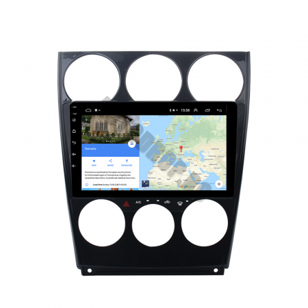 Navigatie Mazda 6 (2002-2008), QUADCORE|MTK| / 1GB RAM + 16GB ROM, 9 Inch - AD-BGPMAZDA6MTK13