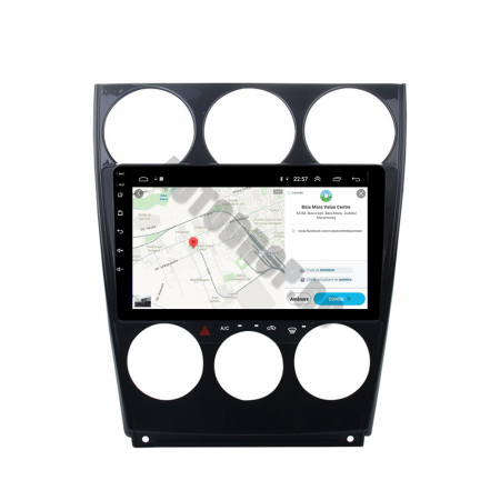Navigatie Mazda 6 (2002-2008), QUADCORE|MTK| / 1GB RAM + 16GB ROM, 9 Inch - AD-BGPMAZDA6MTK10