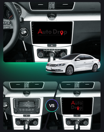 Navigatie Volkswagen Passat B6 / B7 / CC, QUADCORE|MTK| / 1GB RAM + 16GB ROM, 10.1 Inch - AD-BGPVWP10MTK19