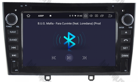 NAVIGATIE PEUGEOT 308/ 408, ANDROID 9, Octacore|PX5|/ 4GB RAM + 64GB ROM cu DVD, 7 Inch - AD-BGWPGTX08P5-B4