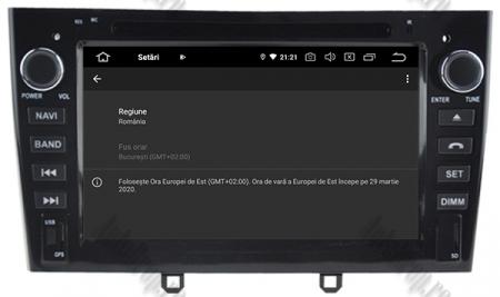 NAVIGATIE PEUGEOT 308/ 408, ANDROID 9, Quadcore|PX30|/ 2GB RAM + 16GB ROM cu DVD, 7 Inch - AD-BGWPGTX08P3-B9