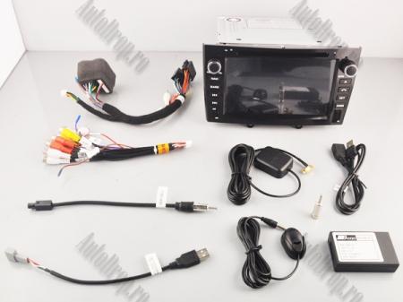 NAVIGATIE PEUGEOT 308/ 408, ANDROID 9, Quadcore|PX30|/ 2GB RAM + 16GB ROM cu DVD, 7 Inch - AD-BGWPGTX08P3-B17