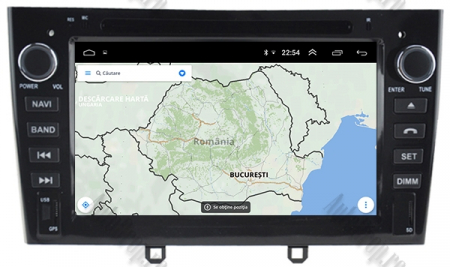 NAVIGATIE PEUGEOT 308/ 408, ANDROID 9, Octacore|PX5|/ 4GB RAM + 64GB ROM cu DVD, 7 Inch - AD-BGWPGTX08P5-B14