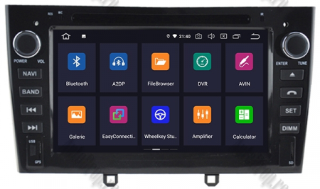 NAVIGATIE PEUGEOT 308/ 408, ANDROID 9, Octacore|PX5|/ 4GB RAM + 64GB ROM cu DVD, 7 Inch - AD-BGWPGTX08P5-B1