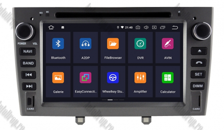 NAVIGATIE PEUGEOT 308/ 408, ANDROID 9, Octacore|PX5|/ 4GB RAM + 64GB ROM cu DVD, 7 Inch - AD-BGWPGTX08P5-G1