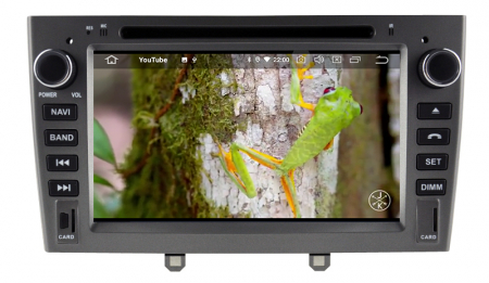 NAVIGATIE PEUGEOT 308/ 408, ANDROID 9, Octacore|PX5|/ 4GB RAM + 64GB ROM cu DVD, 7 Inch - AD-BGWPGTX08P5-G9