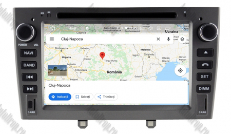 NAVIGATIE PEUGEOT 308/ 408, ANDROID 9, Octacore|PX5|/ 4GB RAM + 64GB ROM cu DVD, 7 Inch - AD-BGWPGTX08P5-G14
