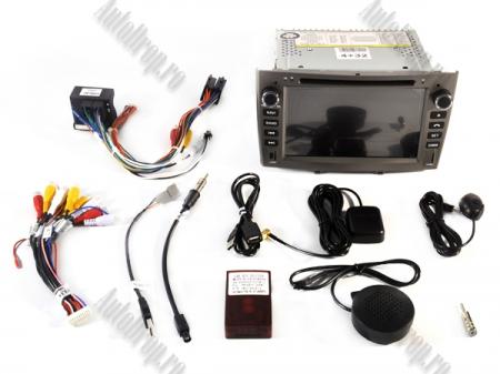 NAVIGATIE PEUGEOT 308/ 408, ANDROID 9, Quadcore PX30 / 2GB RAM + 16GB ROM cu DVD, 7 Inch - AD-BGWPGTX08P3-G16