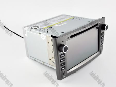 NAVIGATIE PEUGEOT 308/ 408, ANDROID 9, Quadcore PX30 / 2GB RAM + 16GB ROM cu DVD, 7 Inch - AD-BGWPGTX08P3-G15