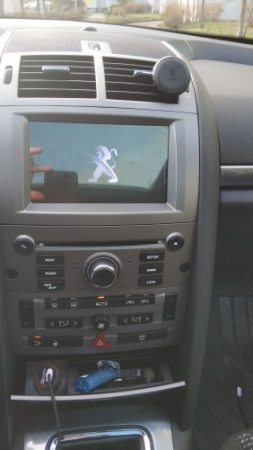 NAVIGATIE PEUGEOT 407, ANDROID 9, Octacore|PX5|/ 4GB RAM + 64GB ROM CU DVD, 7 INCH - AD-BGWPGT407P5-S19