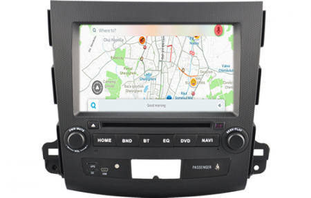 Navigatie MITSUBISHI OUTLANDER, PEUGEOT 4007(2007-2012)/CITROEN C-CROSSER, Android 9, Octacore / 4GB RAM cu DVD, 7 Inch - AD-BGWOTLRP51