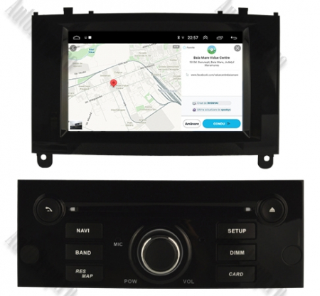 NAVIGATIE PEUGEOT 407, ANDROID 9, Octacore|PX5|/ 4GB RAM + 64GB ROM CU DVD, 7 INCH - AD-BGWPGT407P5-B13