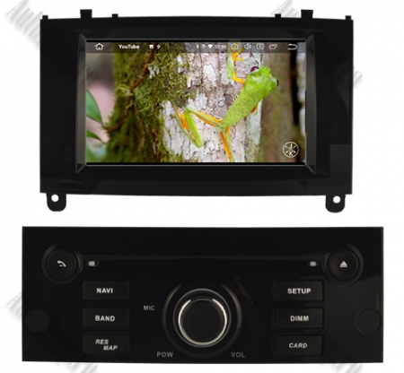NAVIGATIE PEUGEOT 407, ANDROID 9, Octacore|PX5|/ 4GB RAM + 64GB ROM CU DVD, 7 INCH - AD-BGWPGT407P5-B9
