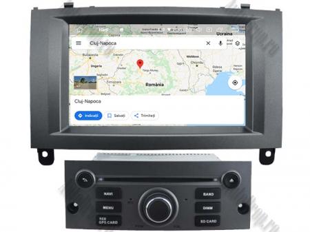 Navigatie Peugeot 407, Android 10, Quadcore|MTK|/ 2GB RAM + 16GB ROM cu DVD, 7 Inch - AD-BGWPGT407MTK-S9