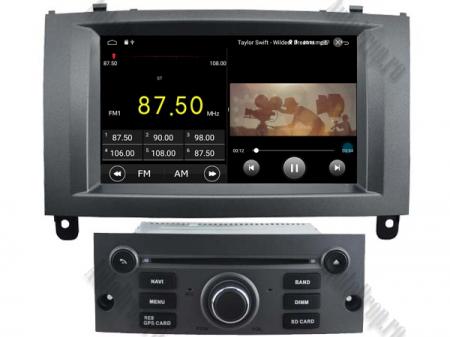 Navigatie Dedicata Peugeot 407 cu Android - AutoDrop.ro [2]