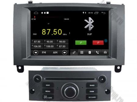 Navigatie Peugeot 407, Android 10, Quadcore|MTK|/ 2GB RAM + 16GB ROM cu DVD, 7 Inch - AD-BGWPGT407MTK-S3