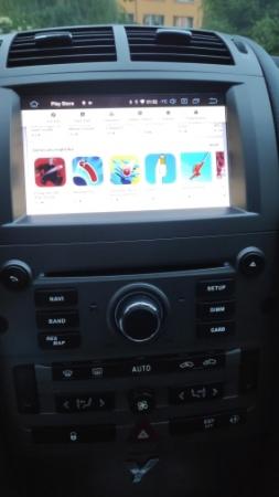 Navigatie Peugeot 407, Android 10, Quadcore|MTK|/ 2GB RAM + 16GB ROM cu DVD, 7 Inch - AD-BGWPGT407MTK-S21