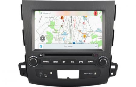 Navigatie MITSUBISHI OUTLANDER, PEUGEOT 4007(2007-2012)/CITROEN C-CROSSER, Android 9, Quadcore / 2GB RAM cu DVD, 7 Inch - AD-BGWOTLRP32