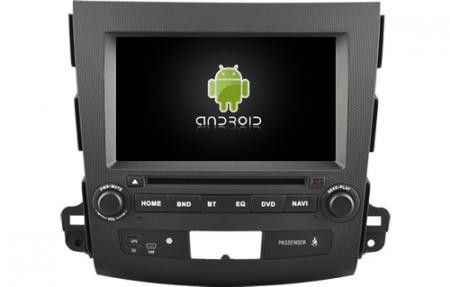 Navigatie MITSUBISHI OUTLANDER, PEUGEOT 4007(2007-2012)/CITROEN C-CROSSER, Android 9, Quadcore / 2GB RAM cu DVD, 7 Inch - AD-BGWOTLRP31