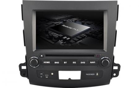 Navigatie MITSUBISHI OUTLANDER, PEUGEOT 4007(2007-2012)/CITROEN C-CROSSER, Android 9, Quadcore / 2GB RAM cu DVD, 7 Inch - AD-BGWOTLRP33