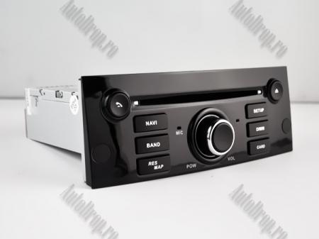 Navigatie Peugeot 407, Android 10, Quadcore|MTK|/ 2GB RAM + 16GB ROM cu DVD, 7 Inch - AD-BGWPGT407MTK-B12