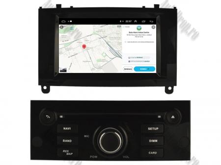 Navigatie Peugeot 407, Android 10, Quadcore|MTK|/ 2GB RAM + 16GB ROM cu DVD, 7 Inch - AD-BGWPGT407MTK-B8