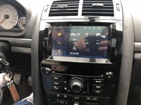 Navigatie Peugeot 407, Android 10, Quadcore|MTK|/ 2GB RAM + 16GB ROM cu DVD, 7 Inch - AD-BGWPGT407MTK-B20