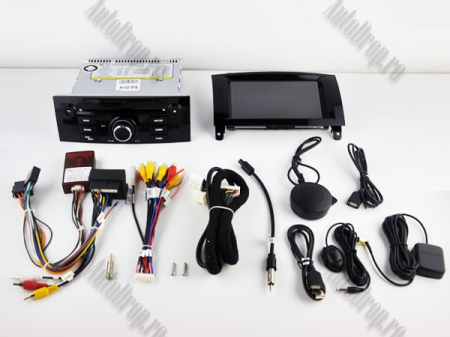 Navigatie Peugeot 407, Android 10, Quadcore|MTK|/ 2GB RAM + 16GB ROM cu DVD, 7 Inch - AD-BGWPGT407MTK-B11