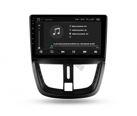 Navigatie Android Peugeot 207 2006-2015 | AutoDrop.ro [4]