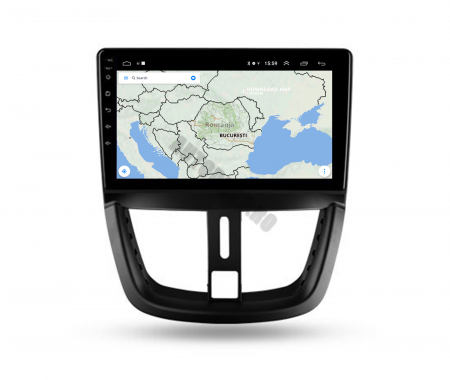 Navigatie Android Peugeot 207 2006-2015 | AutoDrop.ro [10]