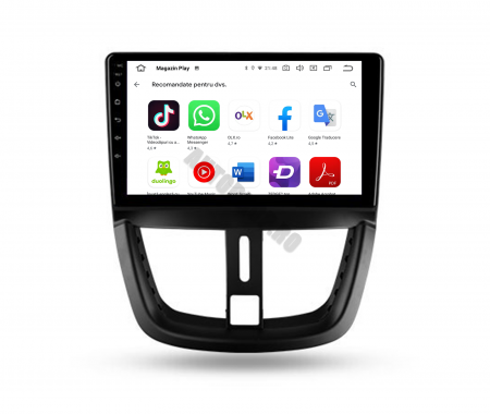 Navigatie Android Peugeot 207 2006-2015 | AutoDrop.ro [7]