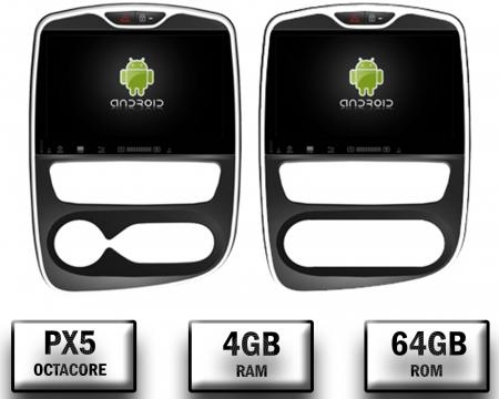 NAVIGATIE Renault Clio, ANDROID 9, Octacore|PX5|/ 4GB RAM + 64GB ROM, 7 Inch - AD-BGWCLIOP50