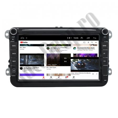 Navigatie Volkswagen, Skoda, Seat, QUADCORE|MTK| / 2GB RAM + 32GB ROM, 8 Inch - AD-BGPVW8MTK2GB9