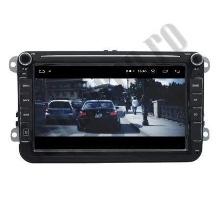 Navigatie Volkswagen, Skoda, Seat, QUADCORE|MTK| / 2GB RAM + 32GB ROM, 8 Inch - AD-BGPVW8MTK2GB13